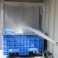 防水試験機(IPX5、6 対応)